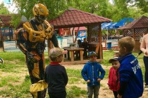 Робот бамбл би для детей